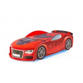Autoposteľ Neo Light 3D S-Alcantra Led červená