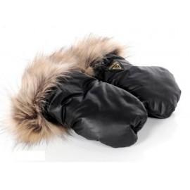 Tako rukavičky Igloo čierne s kožušinou