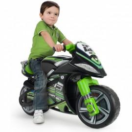 Odrážadlo motorka Injusa Winner Kawasaki zelená