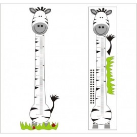 Mierka vzrastu Zebra