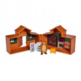 Simba Máša a Medveď mini domček medveďa