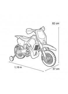 Feber elektrická motorka 6V Rider Cross