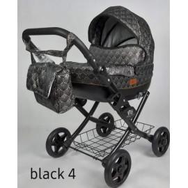 Kočík pre bábiky Nestor Viki black 4