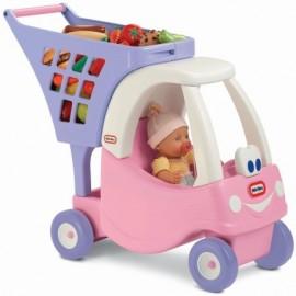 Little Tikes nákupný vozík ružový