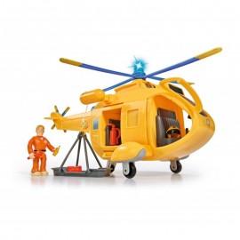Simba vrtulník Wallaby požiarnik Sam s figúrkou