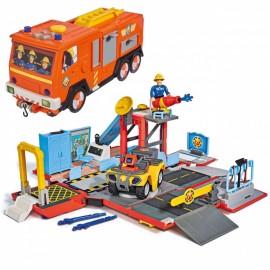 Simba Požiarnik Sam hasičské auto Jupiter 2v1