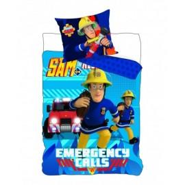 Detské obliečky Požiarnik Sam 90x140 cm