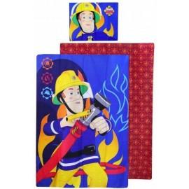 Detské obliečky Požiarnik Sam 140x200 cm