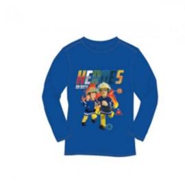 Setino tričko dlhý rukáv Požiarnik Sam Heroes 104