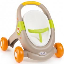 Smoby MiniKiss BabyWalker 3v1 zvieratko