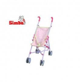 Simba golfový kočík pre bábiky 60 cm fialový