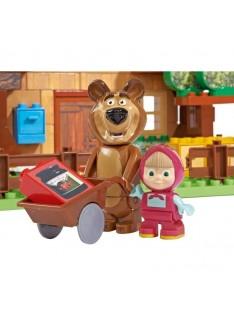 Big kocky Bloxx Máša a Medveď domček medveďa