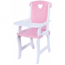Viga drevená stolička pre bábiky
