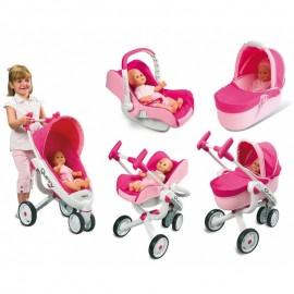 Kočík pre bábiky Smoby Quinny Maxi Cosi 5v1