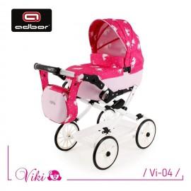 Kočík pre bábiky Adbor Viki Retro 04