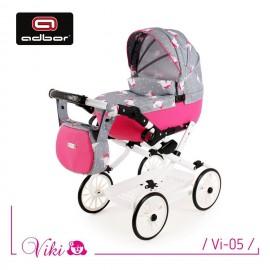 Kočík pre bábiky Adbor Viki Retro 05