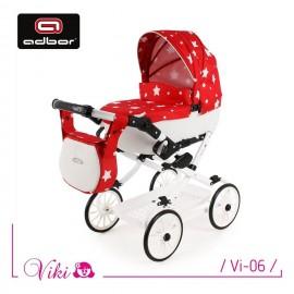 Kočík pre bábiky Adbor Viki Retro 06