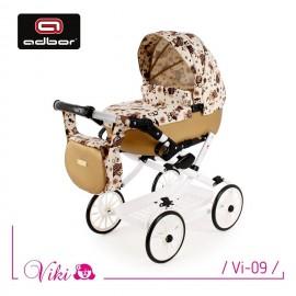 Kočík pre bábiky Adbor Viki Retro 09