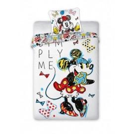 Detské obliečky Minnie Mouse Simply Me 140x200 cm