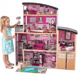 Kidkraft drevený domček pre bábiky Glossy Willa