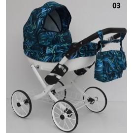 Kočík pre bábiky Nestor Viki Retro Limited 03