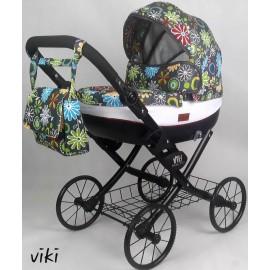 Kočík pre bábiky Nestor Viki Retro Limited 02