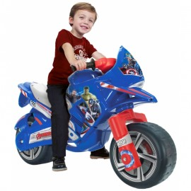 Odrážadlo motorka Injusa Avangers Marvel