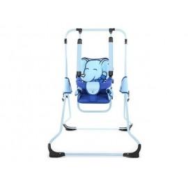 Detská hojdačka Animals Tako modrý slon