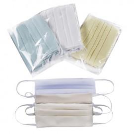 Bavlnené rúško pre dospelých tyrkysové