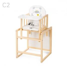 Klups Detská stolička Agátka borovica