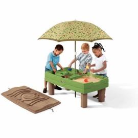 Step2 pieskovisko - vodný stôl so slnečníkom