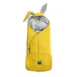 Floo fusak - zavinovačka 3v1 Wafel žltá