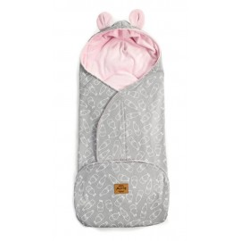 Floo fusak - zavinovačka 3v1 Milk Pink