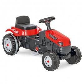 Woopie traktor na pedále červený