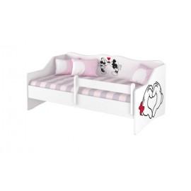 Detská posteľ Lulu Disney Minnie Love 160x80 cm