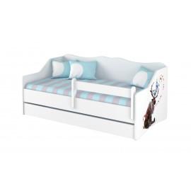 Detská posteľ Lulu Disney Minnie Frozen II 160x80 cm