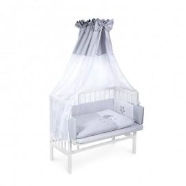7-dielna posteľná súprava Klups Piccolo sivá