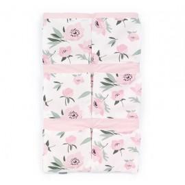 Mamo Tato vreckár na postieľku Best Premium Kvety na ecru