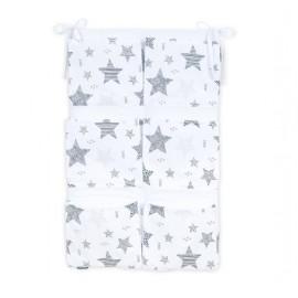 Mamo Tato vreckár na postieľku Best Starmix/sivá
