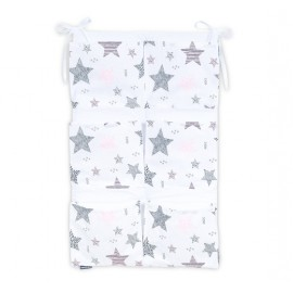 Mamo Tato vreckár na postieľku Best Starmix/ružová