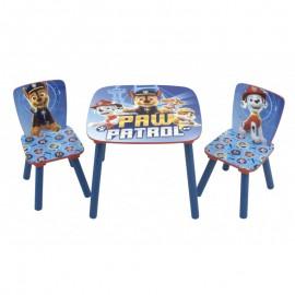 Detský stôl so stoličkami Tlapková Patrola