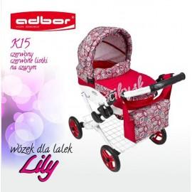 Kočík pre bábiky Adbor Lily K15