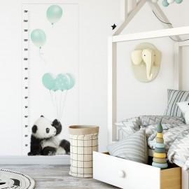 Mierka vzrastu - Panda mätová
