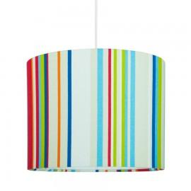 Textilná závesná lampa Stripes mini