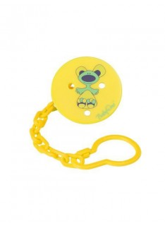 Retiazka na cumlík Baby Ono žltá
