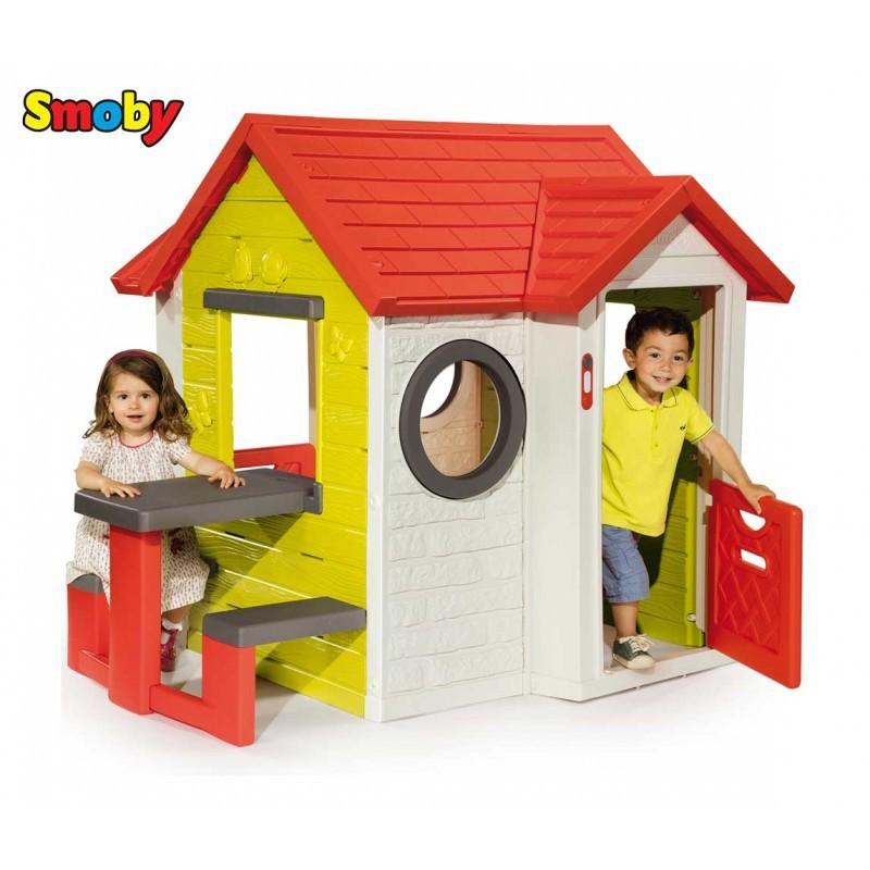 Smoby detský domček My House s dverami
