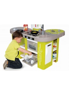 Kuchynka Smoby Tefal Studio XL zeleno-sivá