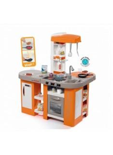 Kuchynka Smoby Tefal Studio XXL Bubble oranžovo-sivá