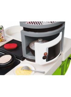 Kuchynka Smoby Cook Master zeleno-sivá