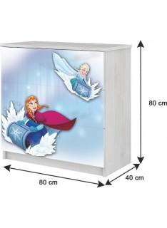 Drevená komoda Disney Frozen